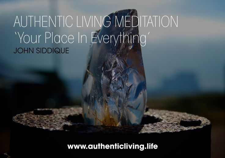 Guided Meditation - Your Place In Everything