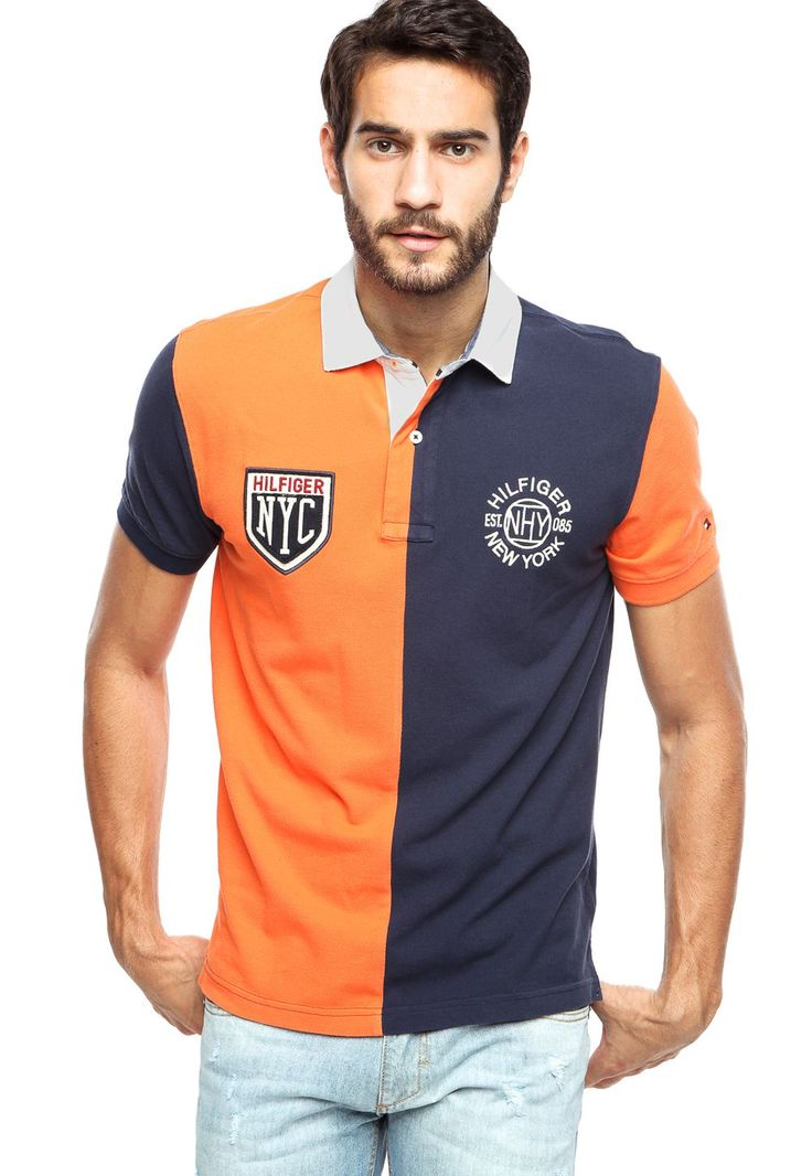 Camisa Polo Tommy Hilfiger New York Multicolorida - Multicolorido | Kanui