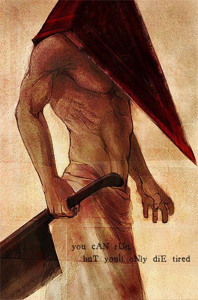 Silent Hill - Pyramid Head by ~ameij on deviantART