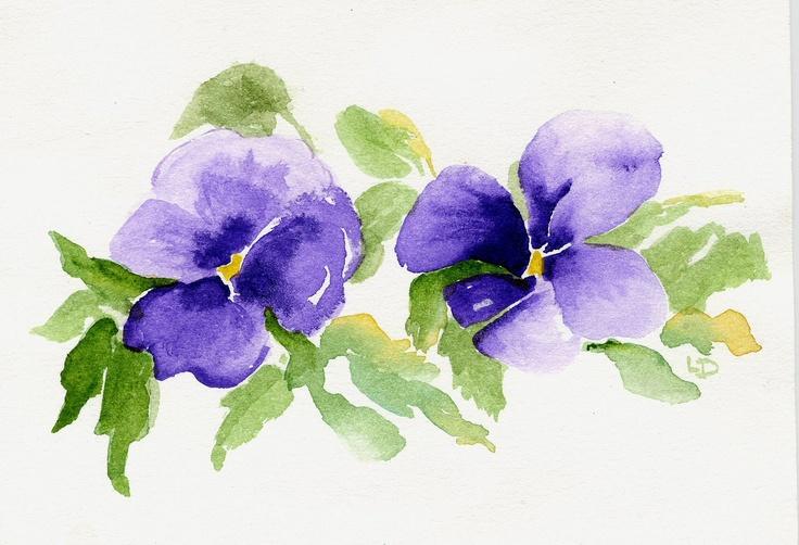 PANSY - - by Linda Douglas