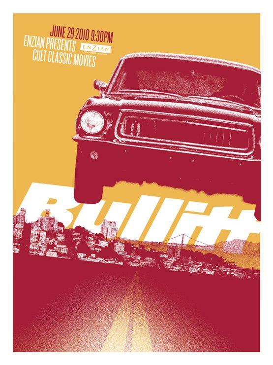 Archives / Bullitt / Lure Design Poster Store