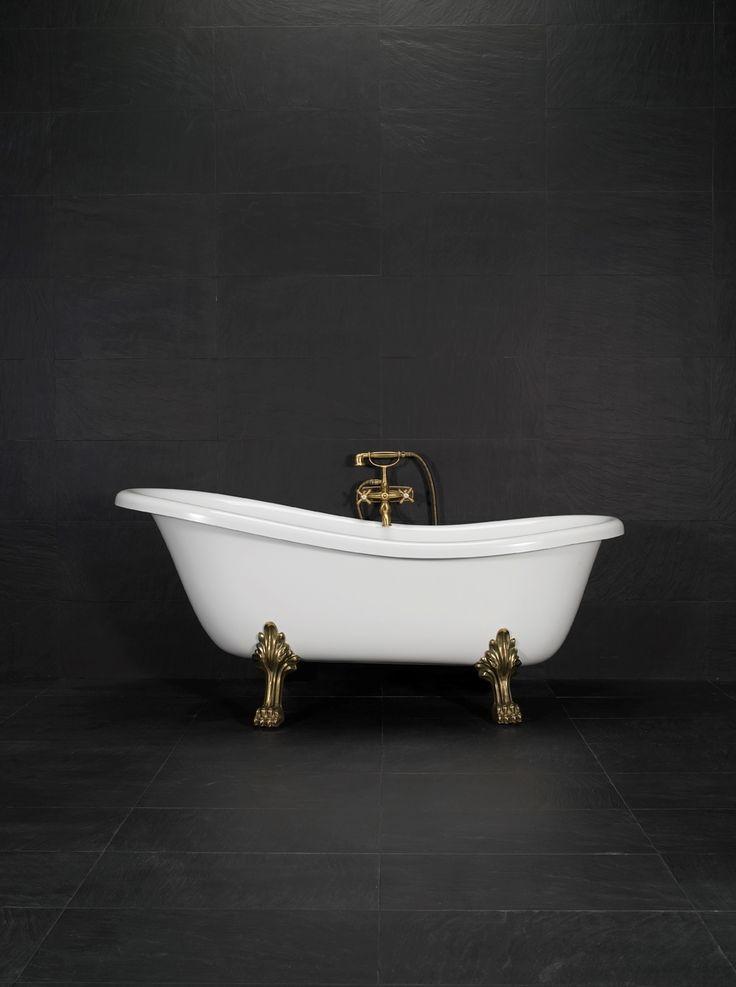 20000698   Westerbergs Victoria 167 badekar 1670x750 mm, løveføtter krom