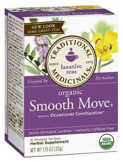 Traditional Medicinals Organic Smooth Move Senna Tea $5.99 - from Well.ca