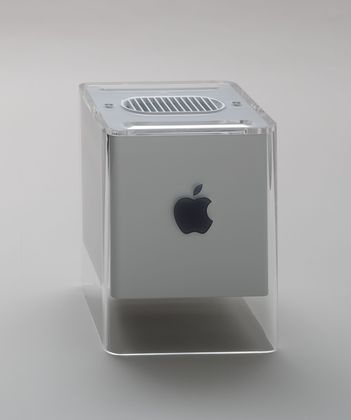 G4 Cube Computer  Jonathan Ive (British, born 1967) and Apple Industrial Design Group (American) #Apple