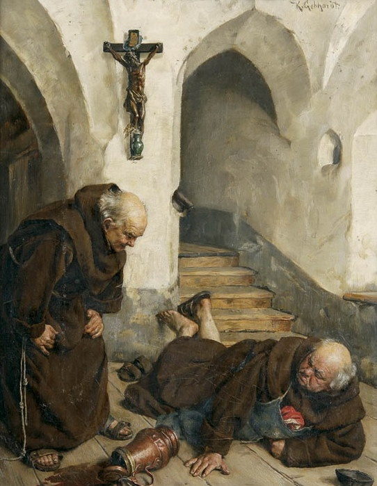 Karl Gephardt (1860 - 1917) —  A clumsy step (542×699):