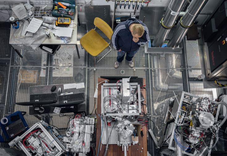 inside CERN – european organization for nuclear research photographed by andri pol published by lars müller
