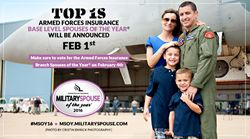 Meet the 2016 Armed Forces Insurance Military Spouse of the Year ® Branch Finalists: Cast Your Vote for the Branch Winners on February 4