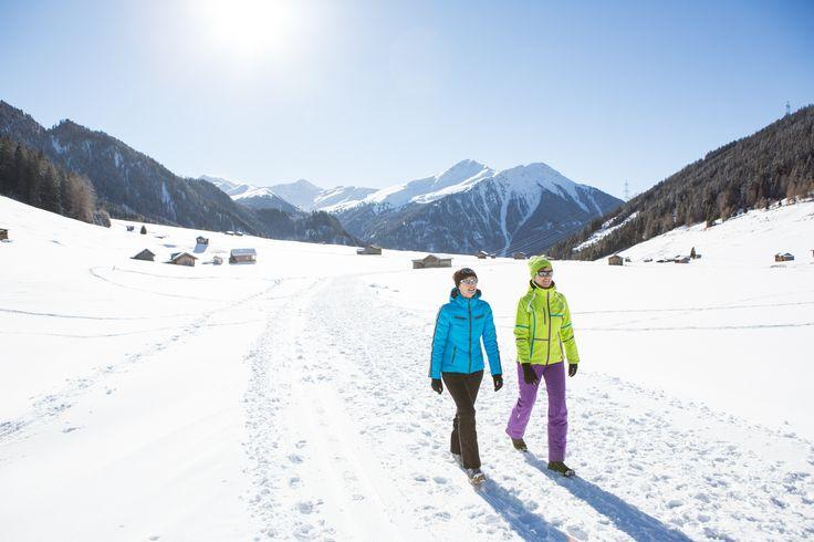 #Winterwandern in der Natur #Schnee #tiroleroberland (c) Daniel Zangerl