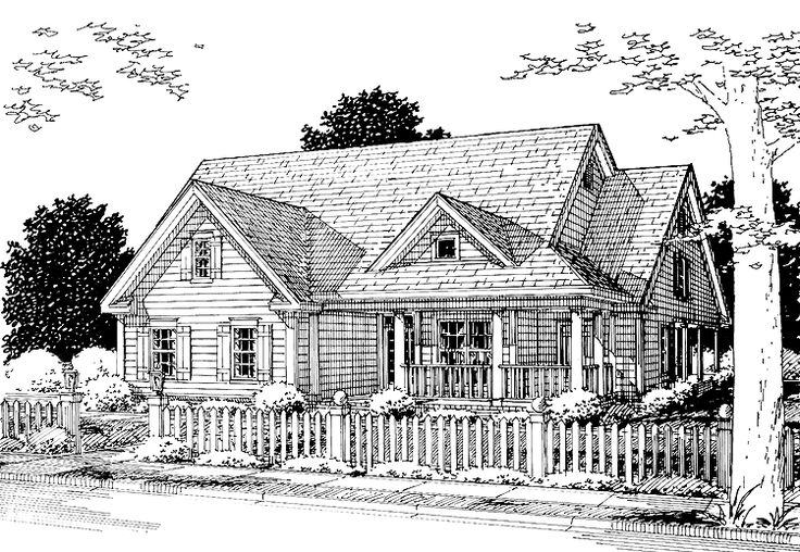 Eplans cottage house plan packed with practicality and for Eplans cottage house plan