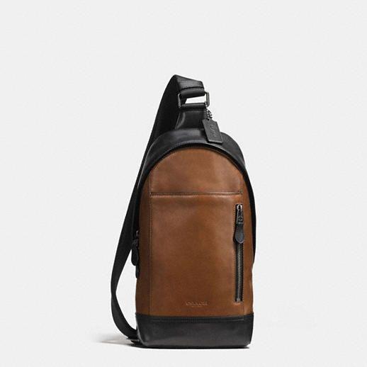 Manhattan Sling Pack in Sport Calf Leather