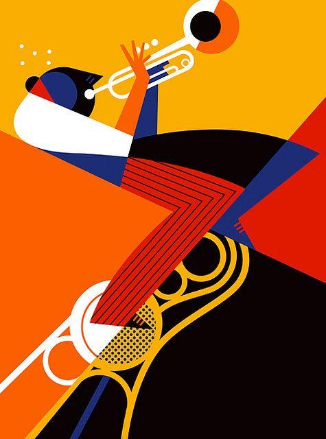 Monterey Jazz Festival poster by Pablo Lobato - pinterest