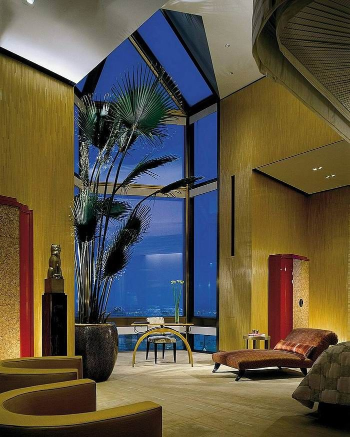 Penthouse: Modern Window, Four Seasons Hotels, New York Cities, Ty Warner, Blog Topic, Hotels Suits, Window Design, Dining Rooms Tables, Warner Penthouses