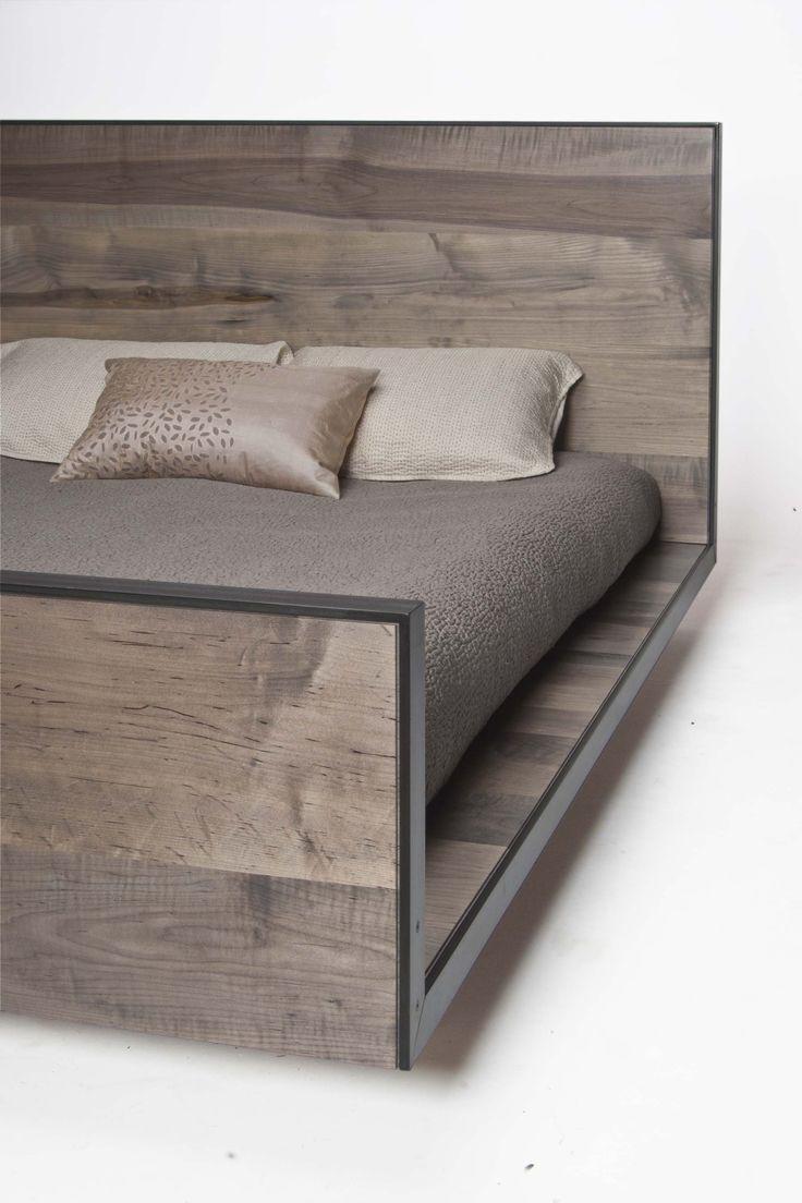 platform sleigh bed