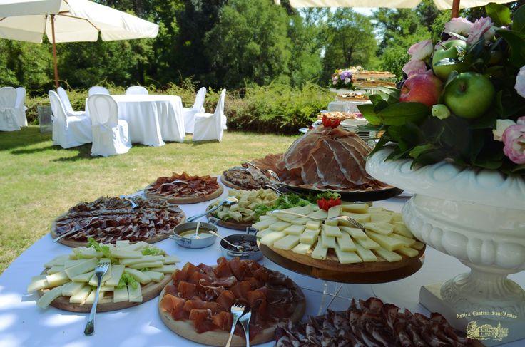 Matrimonio sul Prato del Orangerie Sant Amico