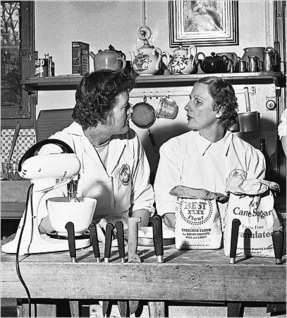 "Julia and Simca....Simone (Simca) Beck, a passionate cook, author and teacher who collaborated with Julia Child on the influential cookbook ""Mastering the Art of French Cooking,"""