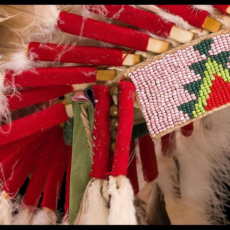 Индейский головной убор в стиле Шайенов 3001.16.01 (фото 3) ☩ «4Colors»™