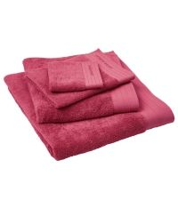Indulgence towels - cerise