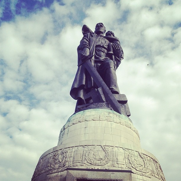 Russian war memorial #berlin #germansingermany is amazing and a must see.