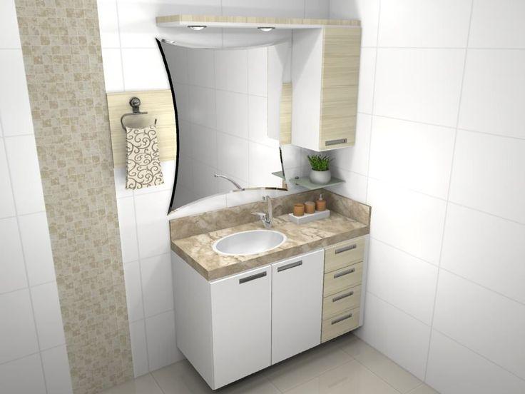 móveis para banheiro planejado - 5
