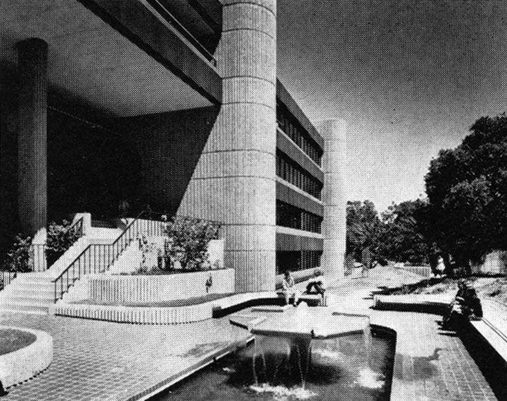 California Casualty Insurance Headquarters, San Mateo, California, 1972 (John Carl Warnecke & Partners)
