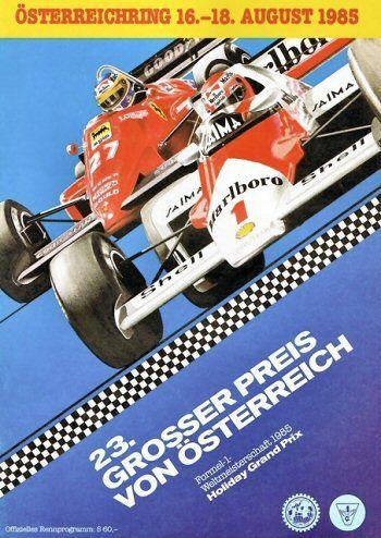 23º Grosser Preis von Osterreich, Osterreichring, 1985