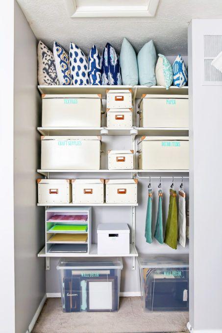 Best 25+ Craft Room Closet Ideas On Pinterest   Craft Organization, Craft  Storage And Gift Wrap Storage
