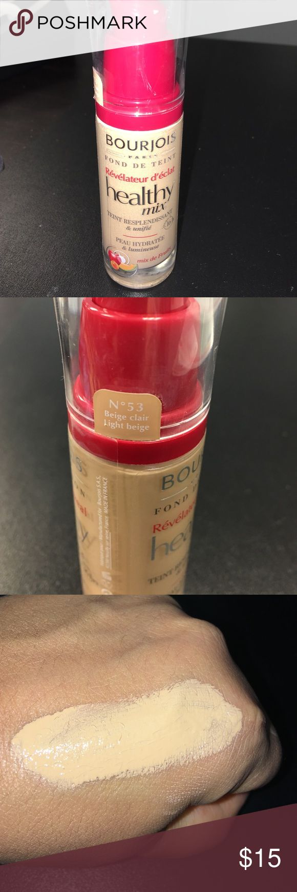 Bourjois healthy mix foundation New and gorgeous eyes very youthful a Jaclyn Hill  fav a tad to light for me Sephora Makeup Foundation