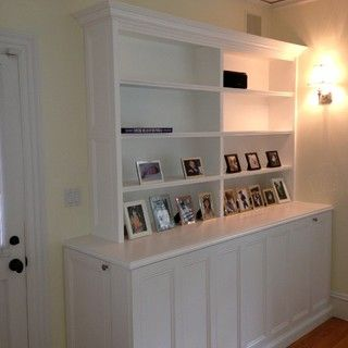 DIY TV lift cabinet.