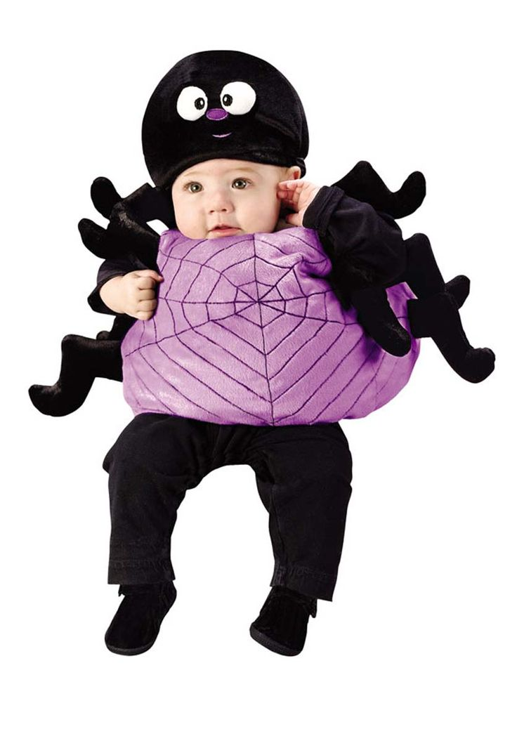 keep the little ones cosy in a spider costume this halloween - Kids Spider Halloween Costume