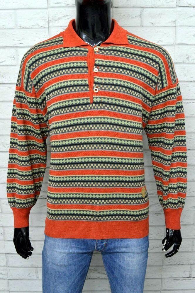 check-out f68be 096ce Maglione Uomo TRUSSARDI Vintage Taglia Size XXL Pullover ...