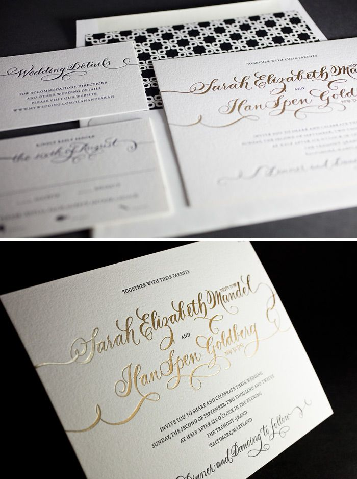 SB u0026 D Wedding Invitation Inspiration This