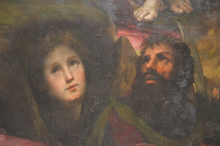 Siena  Domenico Beccafumi (1486-1551) Cristo al Limbo detail (my photo)