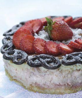 Lagkagen her er en skøn dessert fra Familie Journals Slankeklub