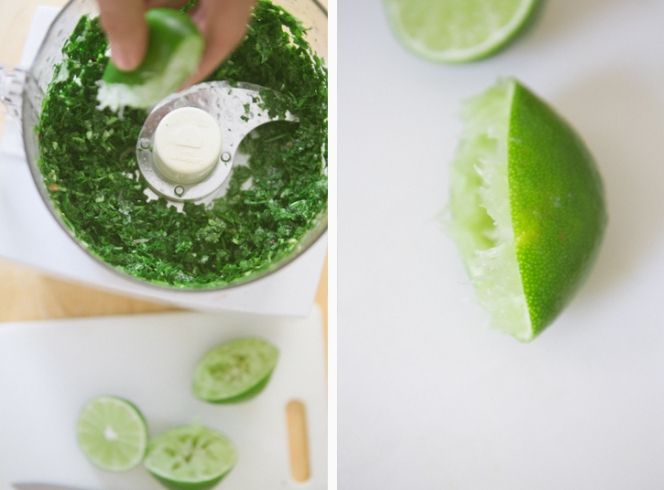Chimichurri Shrimp with Lime-Herb Rice + A Pioneer Woman Cookbook Giveaway - A Thought For Food