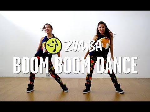 Boom Boom Dance | Zumba® Fitness with Van and Kristie | Live Love Party - YouTube