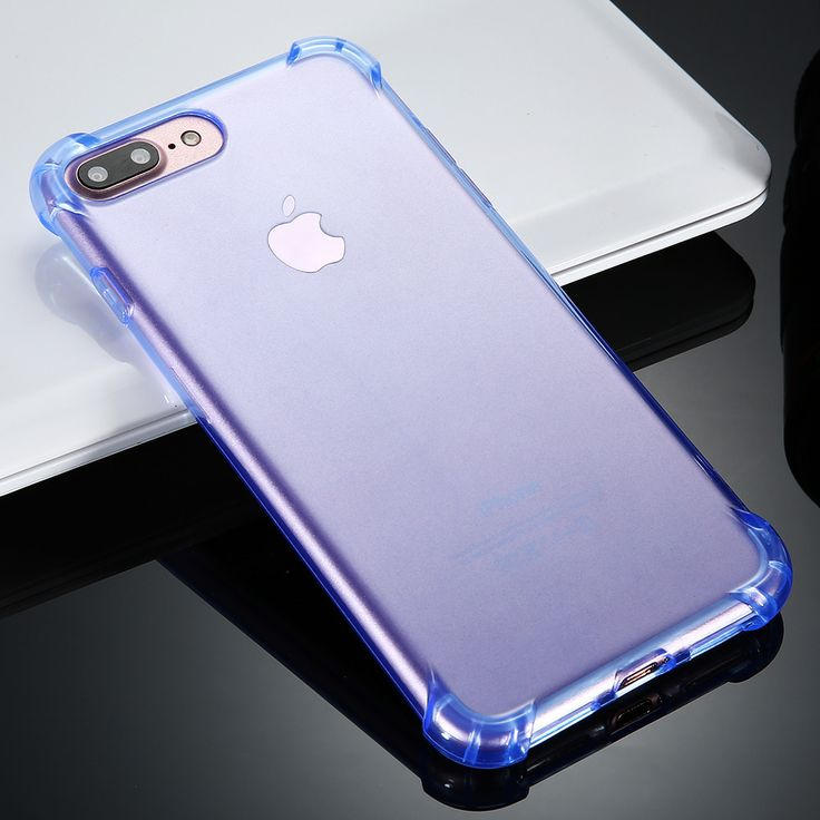For iPhone 7 Plus Clear Crystal Case Transparent Soft TPU Silicon Gel Phone Cases For iPhone 7 Plus Ultra Thin Shockproof Cover