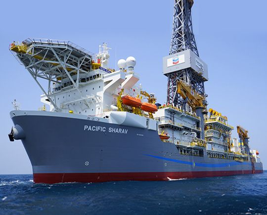 Chevron Makes Major Oil Discovery In Gulf Of Mexico Gulf Of Mexico Drilling Rig Oil Gas