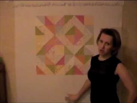 Лоскутное шитье для начинающих - блок треугольники / Пэчворк, лоскутное шитье, квилтинг для начинающих - техника, мастер класс, фото, схемы / КлуКлу. Рукоделие - бисероплетение, квиллинг, вышивка крестом, вязание