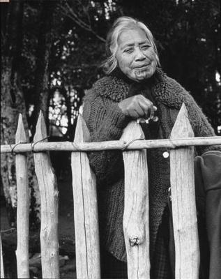 Pare Hapimana, Waikato - 1970 by Marti Friedlander