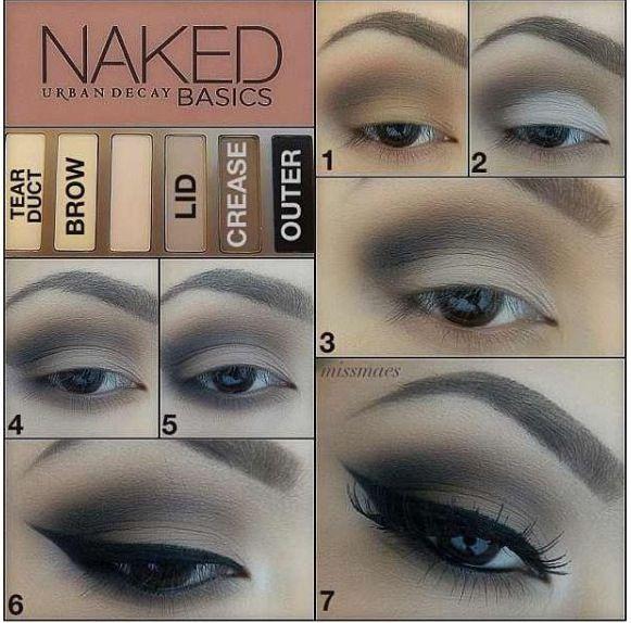 Best Ideas For Makeup Tutorials    Picture    Description  Naked Basics tutorial Urban Decay    - #Makeup https://glamfashion.net/beauty/make-up/best-ideas-for-makeup-tutorials-naked-basics-tutorial-urban-decay/