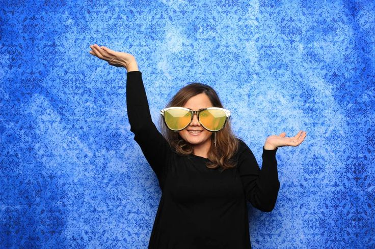 Looking to add a vibrant background that's uncommon in other photo booths?  Check out our Cobalt Blue backdrop and make sure to pair it with our Vancouver photo booth for your next event!  Book us to be your next photo booth rental in Vancouver!