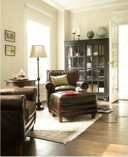light and dark living room