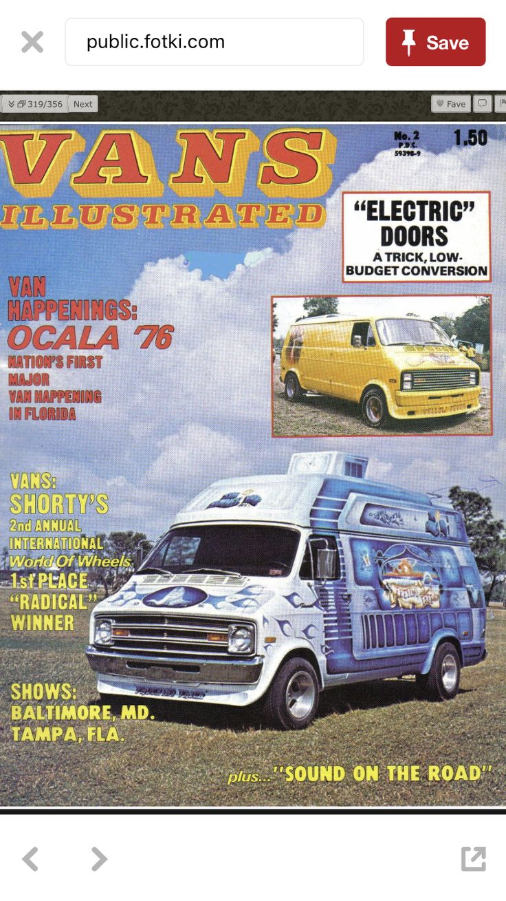 Looking For Magazines Are Pictures Of This Van Feeling Free