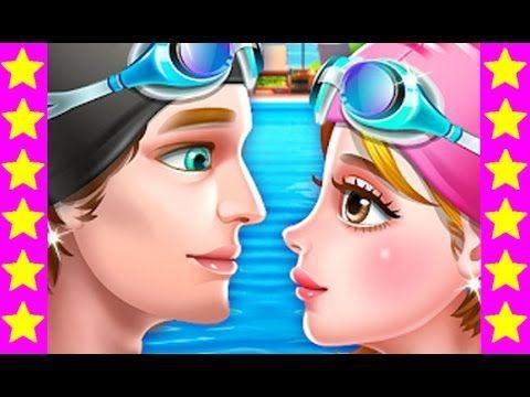 История любви в бассейне. Детские мультфильмы. Мультики для девочек. Мул...