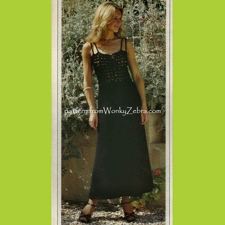 Knockout crochet and knitted set of 3 pieces for evening or holidays. plain skirt and over top, intricate crochet lace camisole chemise top. WZ146 from WonkyZebra