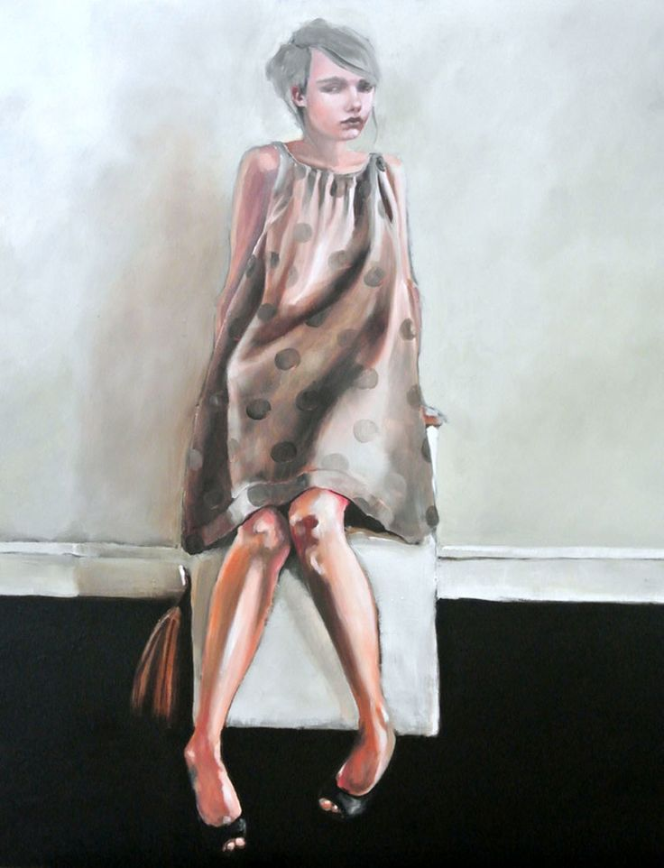 The New Pink by Mila Posthumus. http://www.stateoftheart.co.za/art/painting/the-new-pink-by-mila-posthumus/3079
