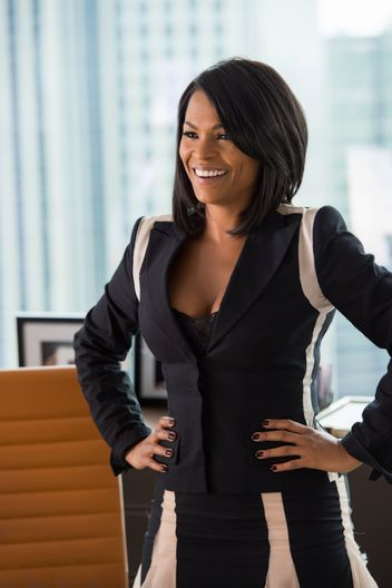 Nia Long's cute hair