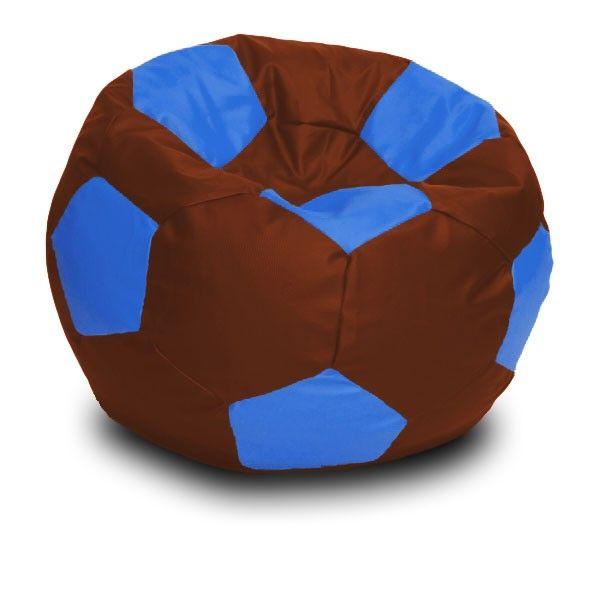Foci XL babzsákfotel - kék - barna