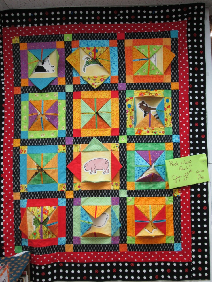 Surprise Peek A Boo Quilt Judy S Class Classes At