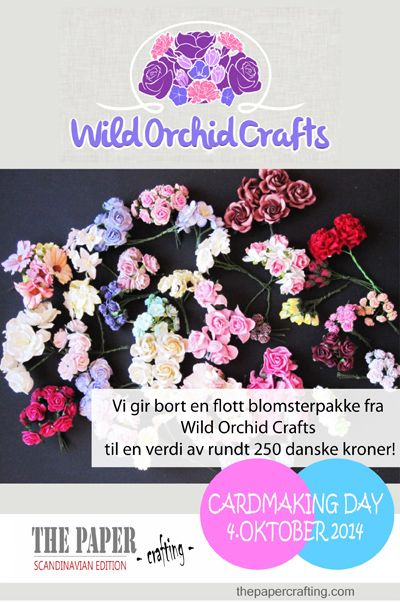 CARDMAKING DAY 4. OKTOBER: VI GIR BORT EN FLOTT BLOMSTERPAKKE! | The Paper Crafting
